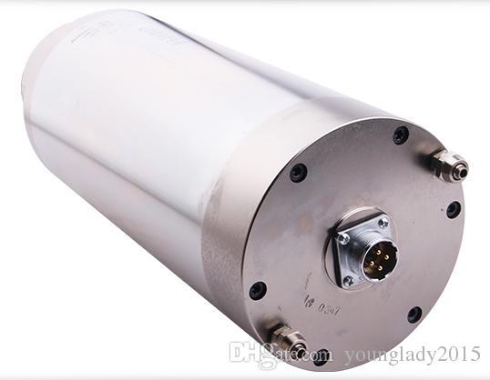 Yüksek Kaliteli ER25 300 HZ 5.5kw mili motoru su soğutmalı cnc router 18000 rpm mili