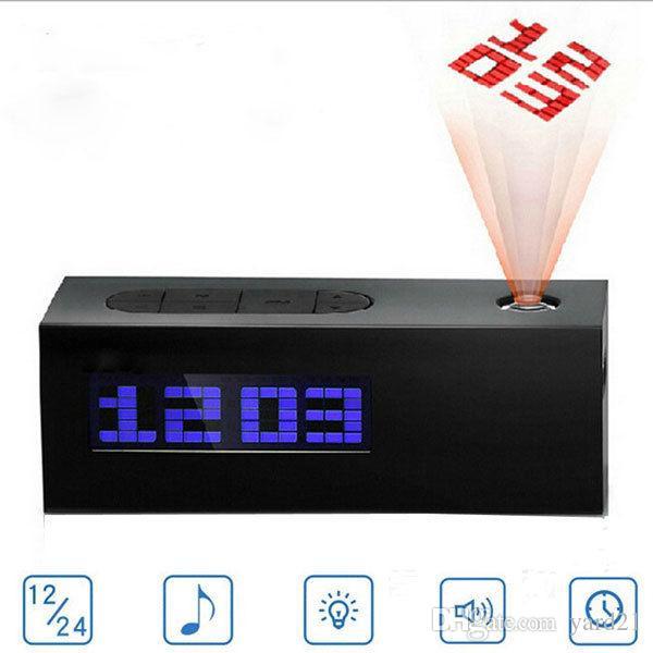 Bedroom Bedside Fm Radio Digital Alarm Clock