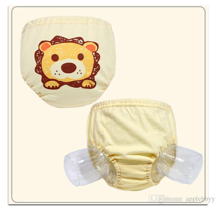 Algodão baby girl underwear maleta pão calças bebê verde roupa interior bebê fralda bolso 2 estilo frete grátis