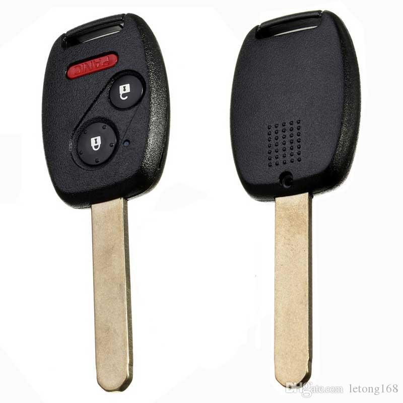 3Buttons Uncut Ignition Key Keyless Entry Remote Transmitter Fob For N5F-S0084A