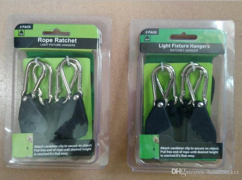 1 pack 2 pièces de 1/8 corde Ratchet cintre plante lampe suspendue sur la corde crochet de levage crochet à cliquet livraison gratuite