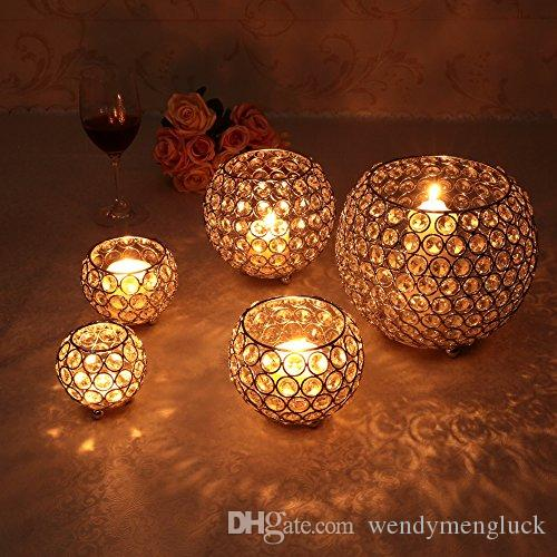 Remarkable Crystal Tealight Candle Holders For Wedding Table Interior Design Ideas Inesswwsoteloinfo