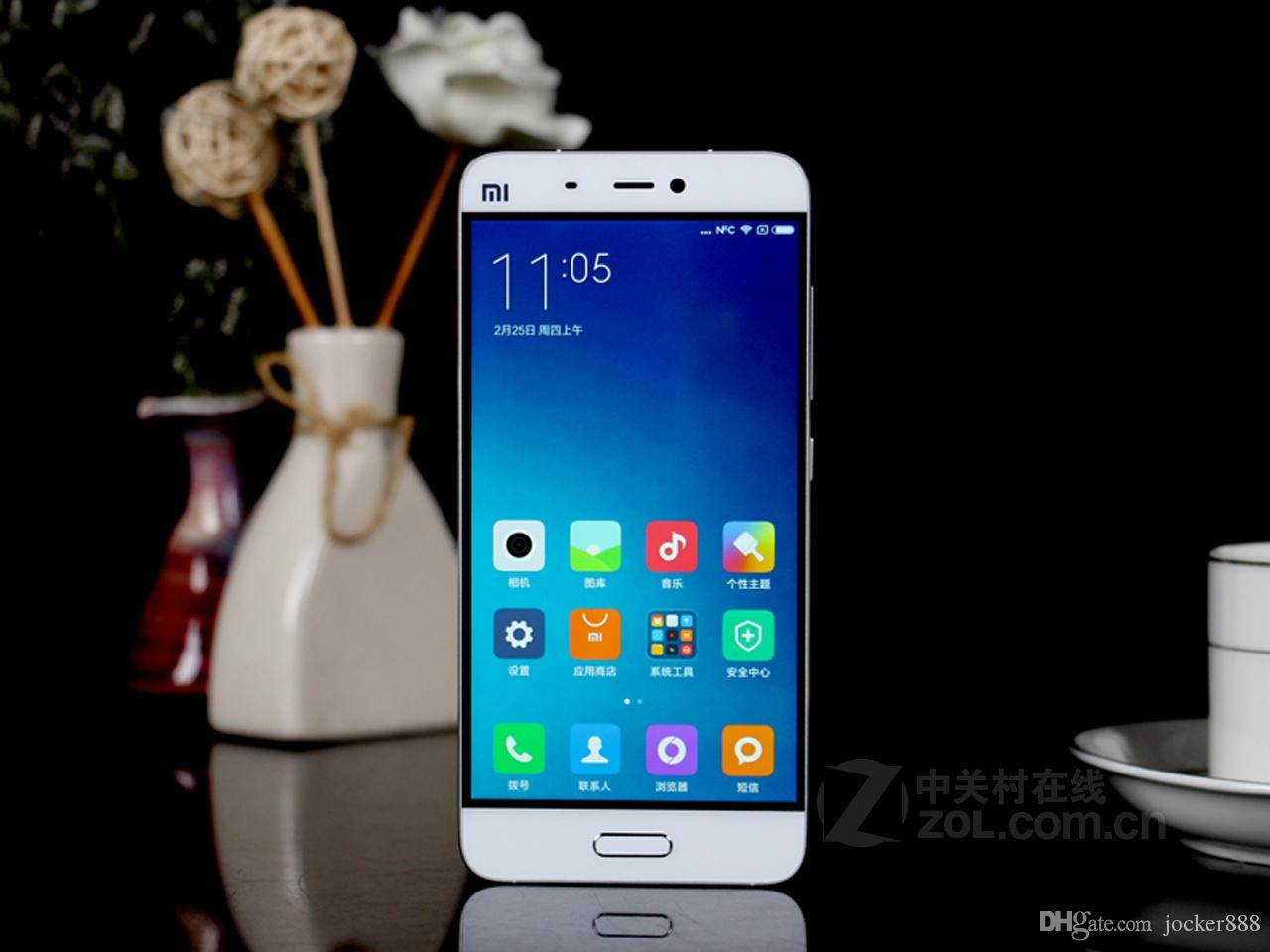 Preiswerte Handys Dreami Original Xiaomi Mi5 3 Gb Ram 32 64 Rom Snapdragon 820 Mi 5 Quad Core 1920x1080 16mp Fingerabdruck Nfc 3000mah