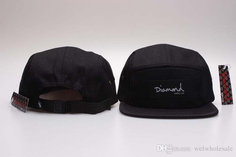 7bd03396a6 New fashion 20 styles Diamond cap 5 Panel Snapback Hats classic men &  women's designer snapbacks caps cheap diamond floral hat gorras planas