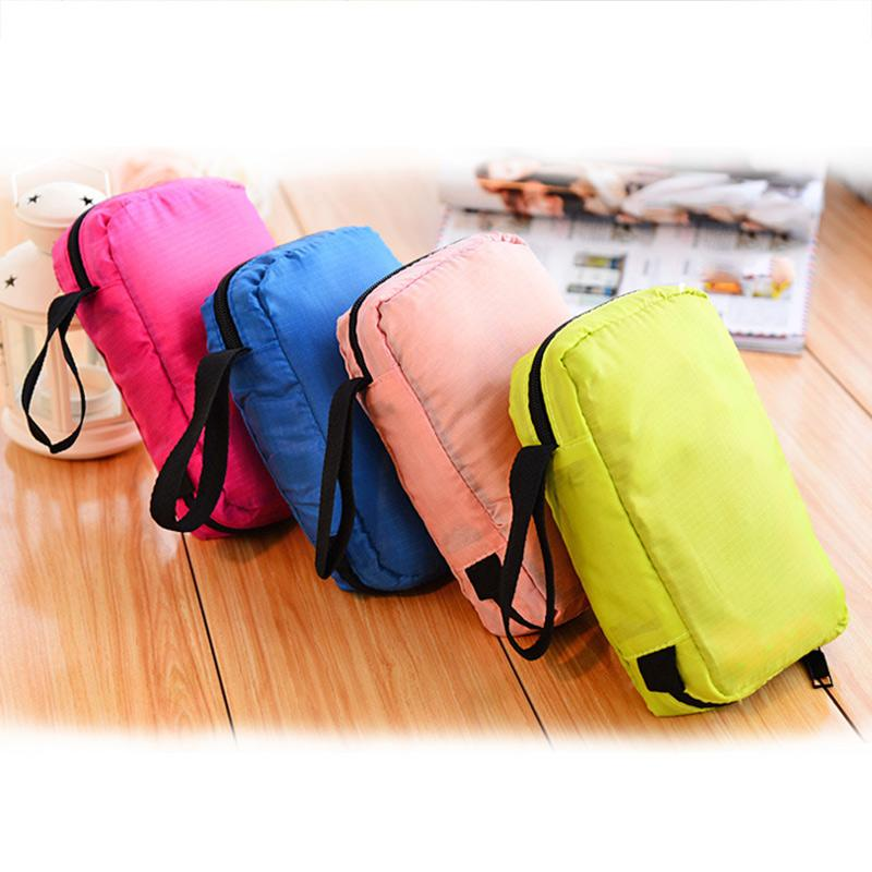 536c2c4ae145 Wholesale- Portable Hanging Multi-function Makeup Cosmetic Bag Toiletry  Pouch Storage LXX9 Bag Turquoise Pouch Holder Pouch Material Online with ...