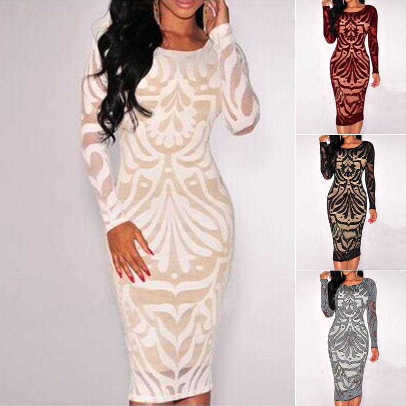 2018 4 Design Plus Size Dress Summer Women Sexy Bandage Bodycon
