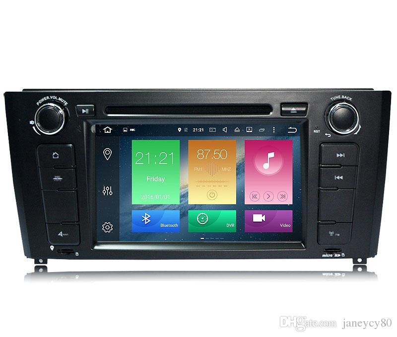 Reproductor de DVD actualizado 4G RAM Octa Core Android 8.0 para BMW E81 82 88 con Radio GPS Navi Wifi DVR Enlace Espejo