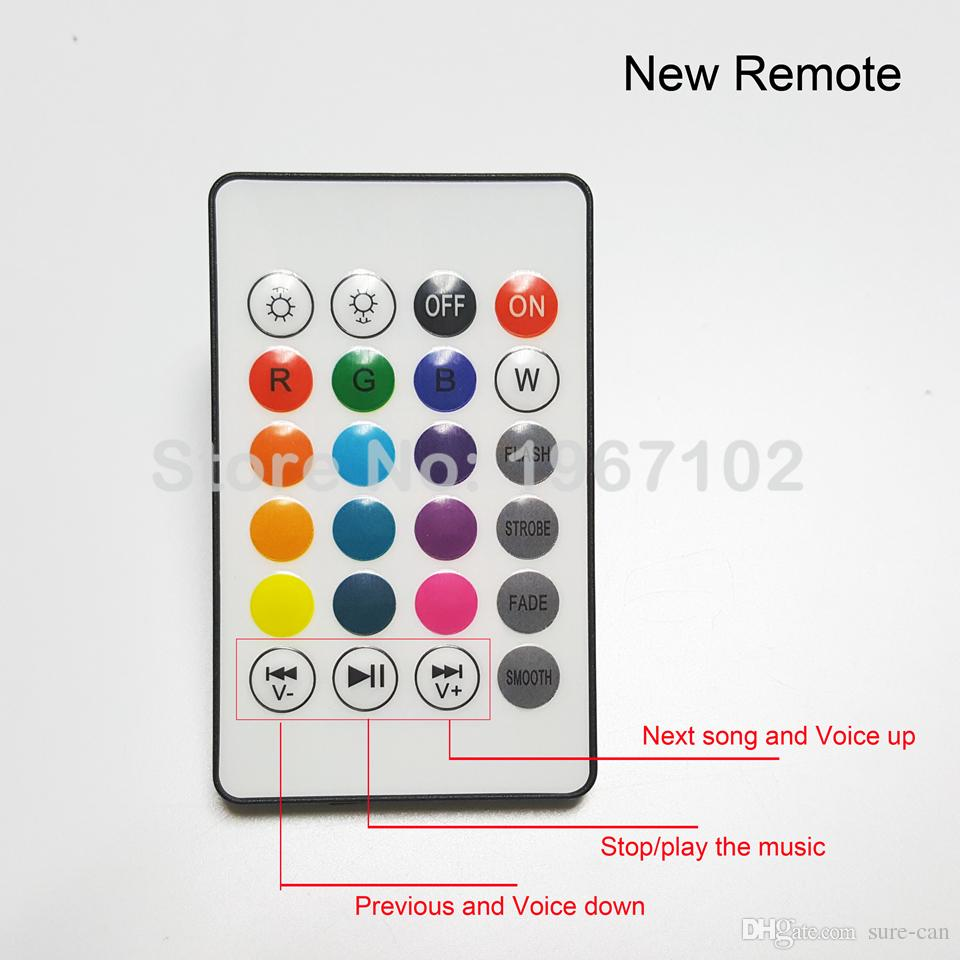 Wireless 12W Power E27 LED rgb Bluetooth Speaker Bulb Light Lamp Music Playing & RGB Lighting with Remote Control
