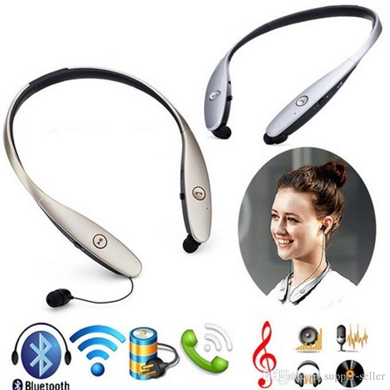 Newest HBS-900 Wireless Sport Neckband hbs headphones Hard Cover In-ear Headphone Bluetooth Stereo Earphones Bluetooth Headphone