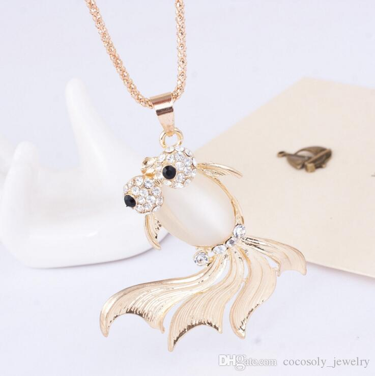 2017 New 72 styles Mixed Korean fashion long Chains elephant Trojan Fox alloy sweater chain necklace Pendant jewelry wholesale