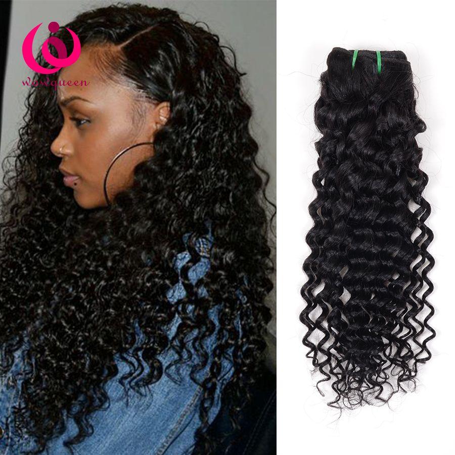 Malaysian Human Weave Hair Deep Wave 3bundles Soft And Thick Wow