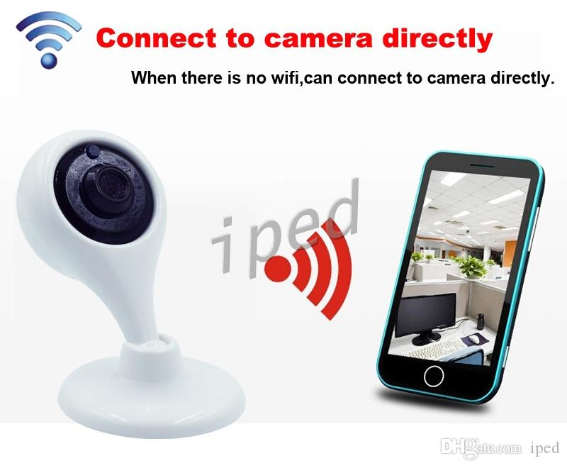 Cheap hot sale Wifi IP Camera HD 720P P2P Mini Wireless Baby Monitor for Home Security support Night Vision with retail package