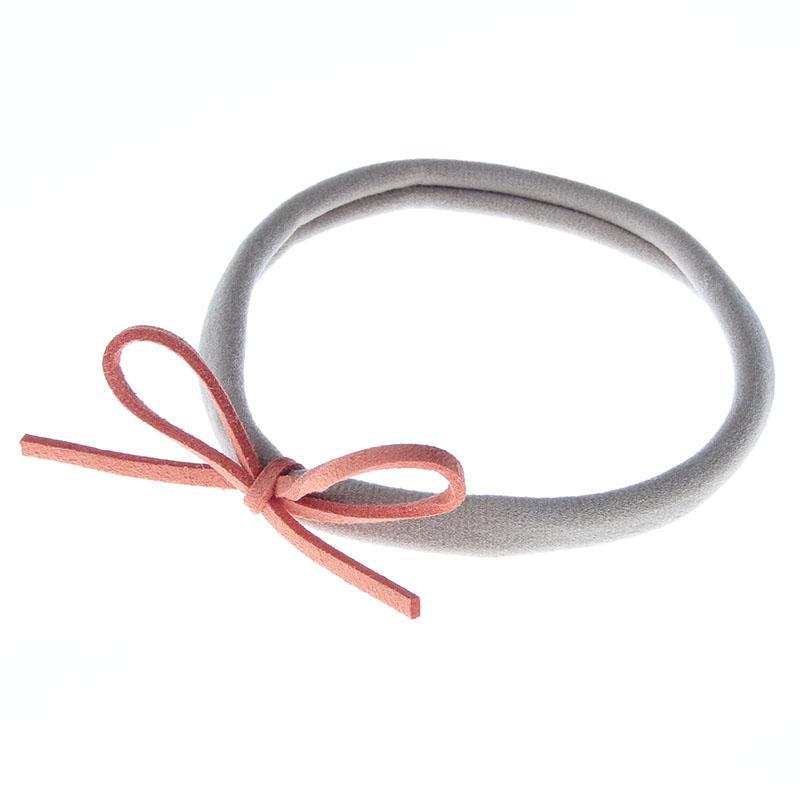 Baby Nylon Elastic Headbands Bow Kids Girls DIY Bowknot Hairbands Children Hair Accessories Simple cute headwear KHA87