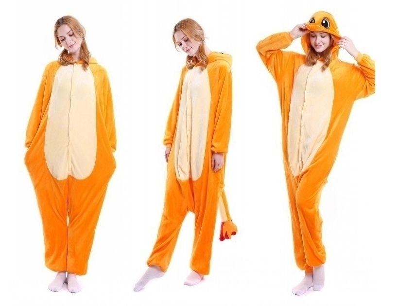 Wholesale Orange Dinosaur Onesies Women Pajamas Set Unisex Men Cosplay Costume Yellow Tiger Onesie Men Sleepwear Wholesale MX-016