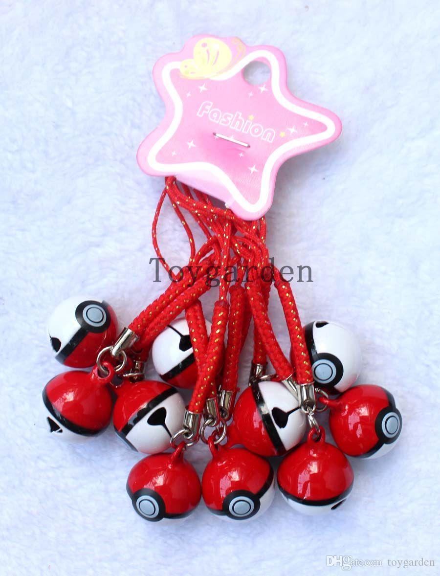 Lote Popular Dos Desenhos Animados Celular Strap JINGLE BELLS Dangle Encantos Presentes Do Partido frete grátis H41