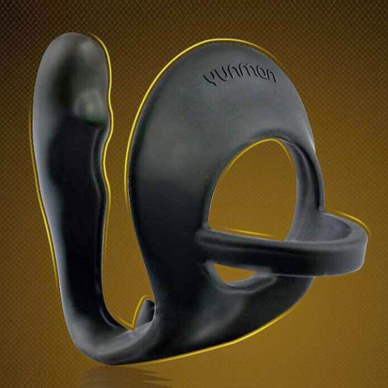 Prostatamassage Analplug mit Penisringen Silikon Dildo Analperlen Sex Produkte Anal Butt Plug Gay Adult Sexspielzeug für Männer