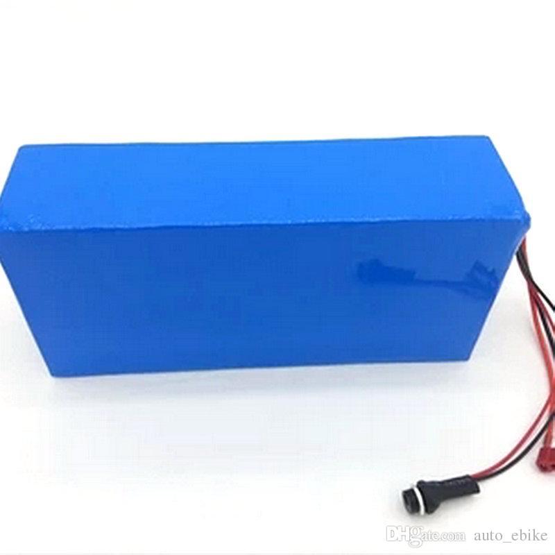 Ücretsiz Gümrüklü Görev Yüksek Kalite DIY 48 V 15Ah Li-Ion Pil Paketi Ile 2A Şarj, BMS Için 48 v 15ah Lityum Pil Paketi