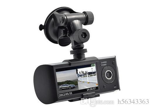 New CAR DVR detector 2.7 Inch Screen Dual Camera Car Blackbox DVR with GPS Logger and G-sensor X3000 Car Camera