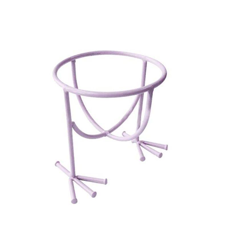 Neue Design Make-Up Schönheit Schablone Ei Puderquaste Schwamm Display-ständer Trocknen Halter Rack kostenloser versand