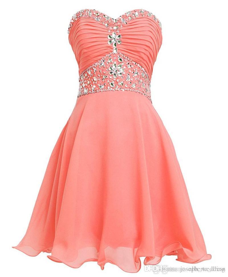 Mint Green Dress Crystal Short Graduation Dresses 2016 Vestido De Formatura Curto Cheap Homecoming Dress for Teenagers