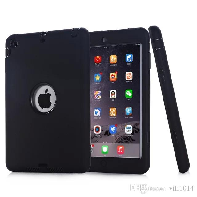 For apple iPad mini 1/2/3 Retina Kids Baby Safe Armor Shockproof Heavy Duty Silicone Hard Case Cover Protective Skin Shell