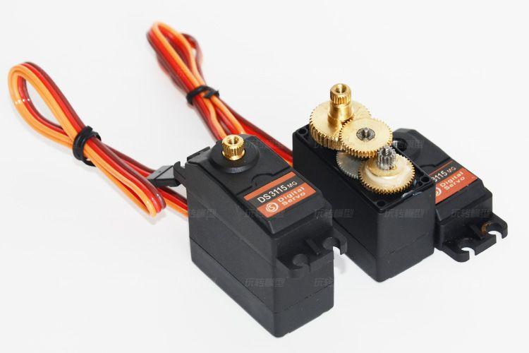 2018 wholesales ds3115mg metal gear high quality servo for Rc car servo motor
