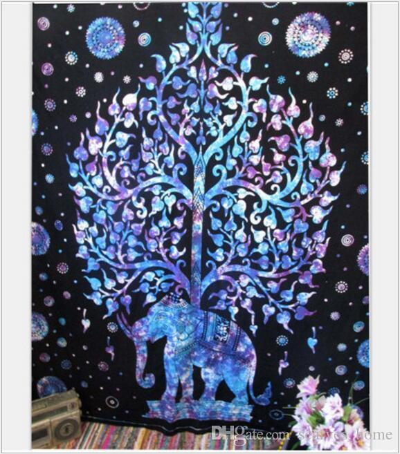 21 Designs Super Size 210*150cm Bohemian Mandala Beach Tapestry Hippie Throw Yoga Mat Towel Indian Polyester Beach Shawl Bath Towel DHL Free