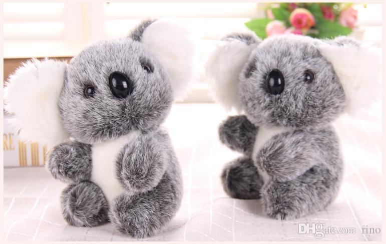 귀여운 코알라 인형 장난감 인형 17cm 인형 사랑스러운 코알라 곰 인형 동물 인형 장난감 생일 선물