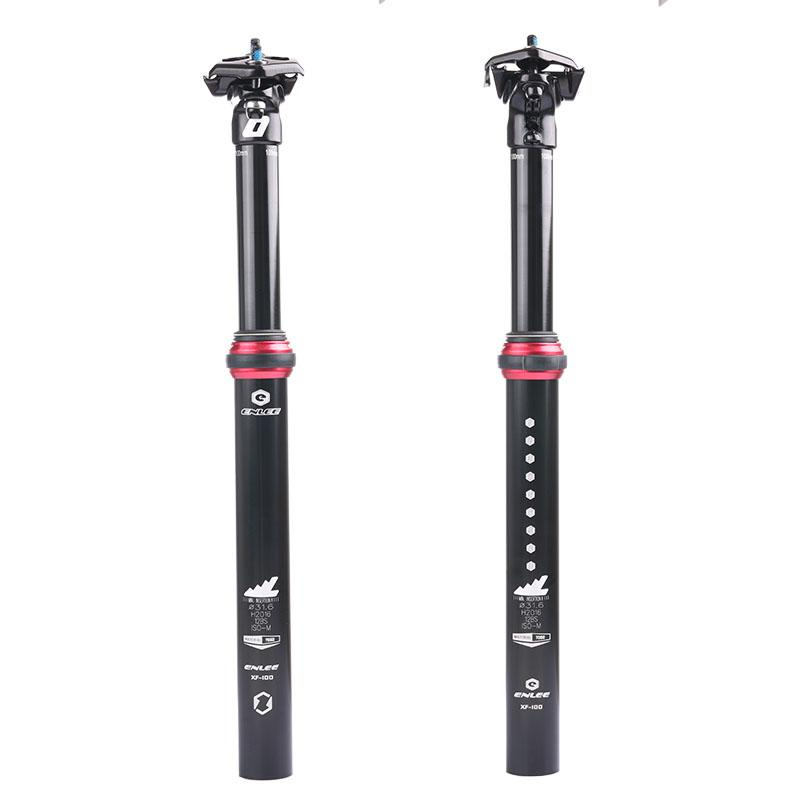 2018 Adjustable Bicycle Seatpost Hydraulic Air Pressure 31 6mm