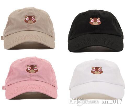 61ae09d15dd84 Kanye West Dropout Bear Dad Hat Embroidered Drake Baseball Cap Yeezus Dad  Cap Unreleased Hat Casquette Sun Caps Drake 6 God Pray Ovo Hats Cap Store  Custom ...