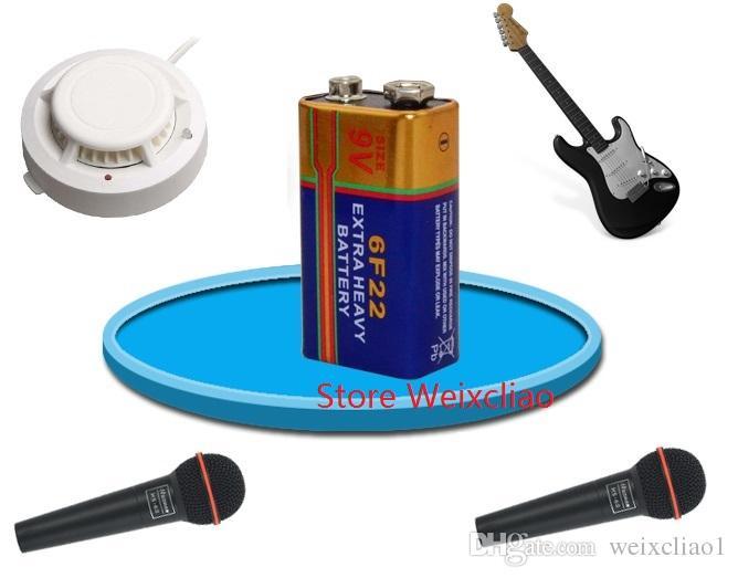 1 9V6F22 9V 6F22 Dry Battery 9 Volt Batteries
