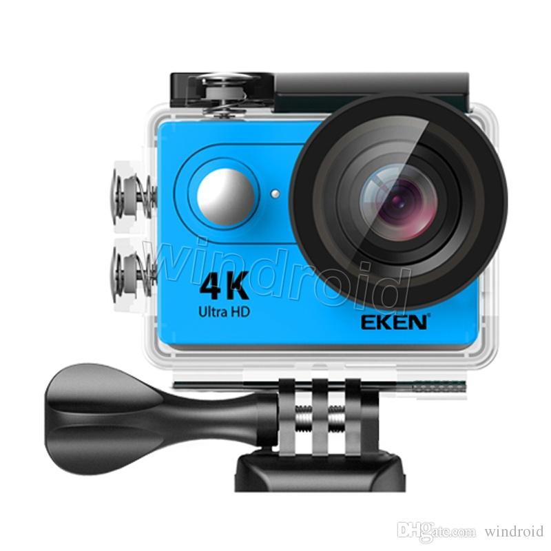 Cámara de acción Cámara original EKEN H9 H9R con control remoto Ultra HD 4K WiFi HDMI 1080P 2.0 LCD 170D pro Sports impermeable con caja de venta al por menor