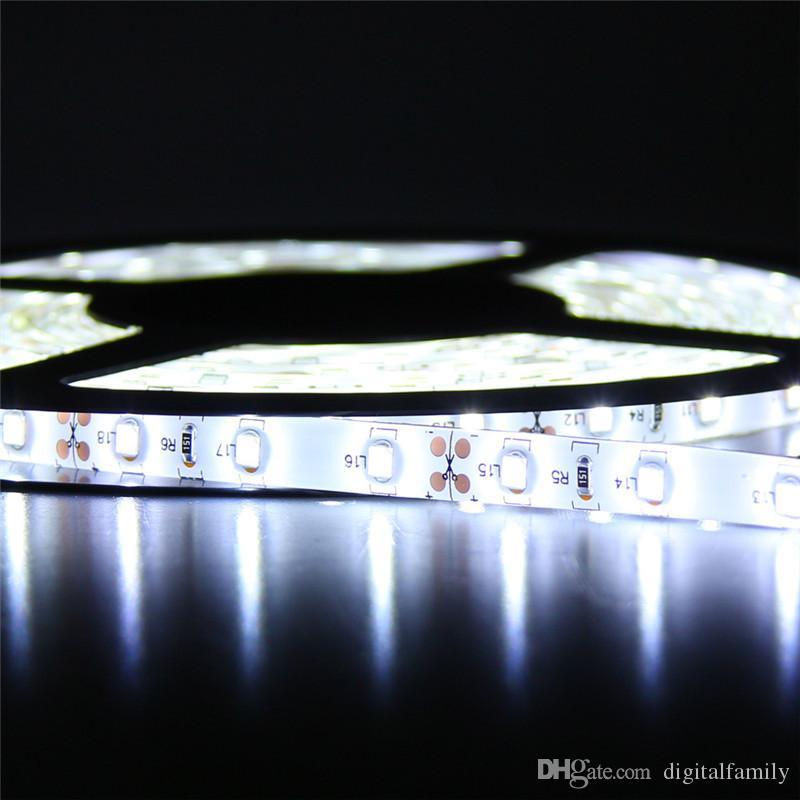 5M 3528 LEDストリップライトRGB 5M防水LEDストリップSMD3528 + 24キーIRリモコン
