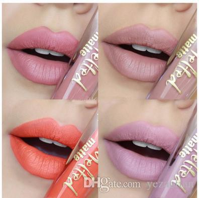 New TOOFACE Melted Matte Liquified Matte Long Wear Lipstick Lip Gloss 7ml/0.23fl.Oz 12 Colors Sell out Queen B FRENCH KISSES