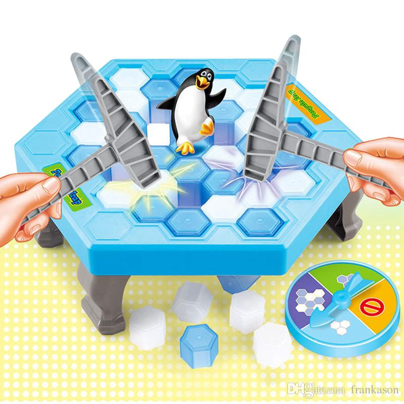 Penguin Trap Game Interactive Toy Ice Breaking Table Plastic Block Games  Penguin Trap Interactive Games Toys For Kids Best Learning Toys Children  Learning ...
