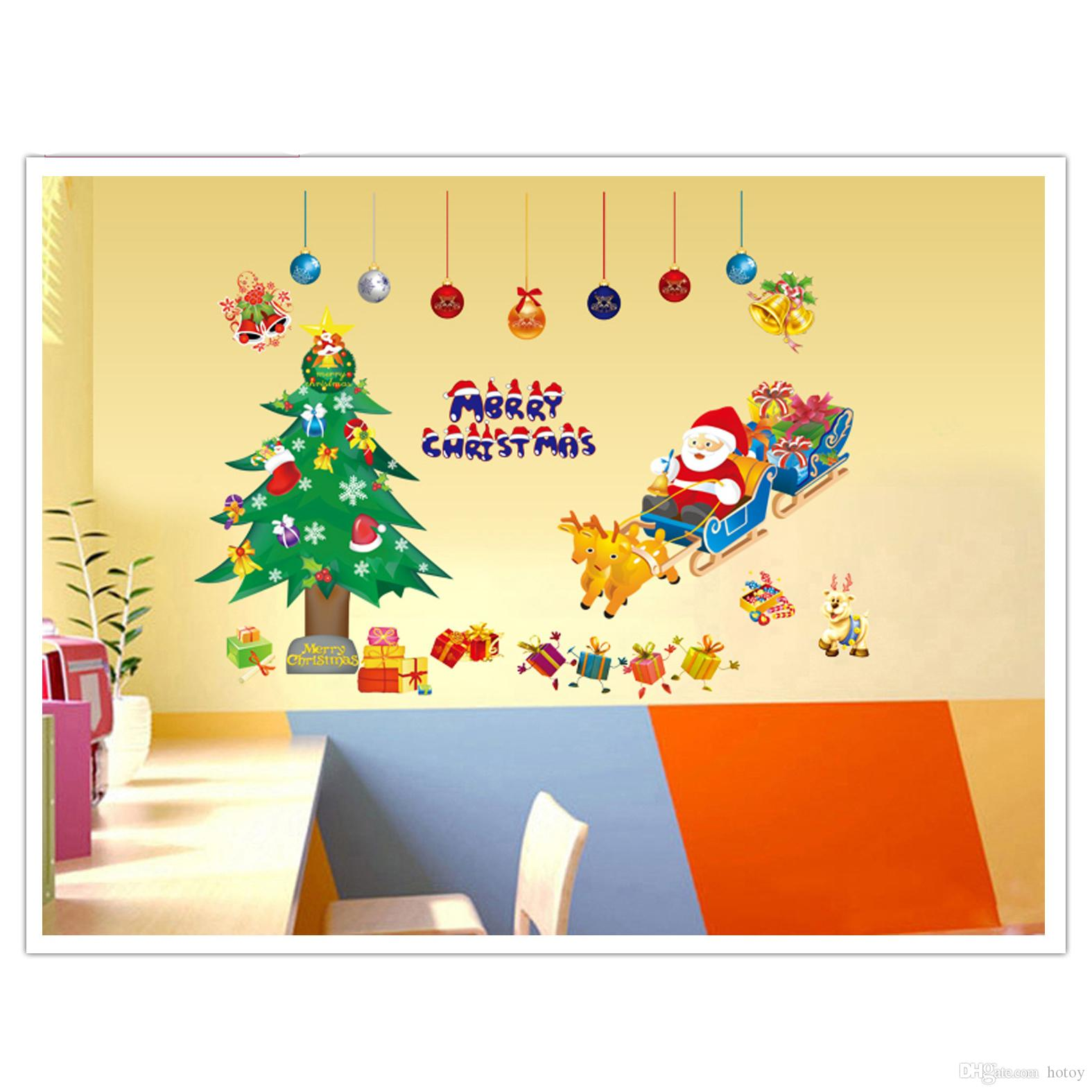 Christmas Sticker Pop Funko Merry Christmas Puzzle Wall Art ...