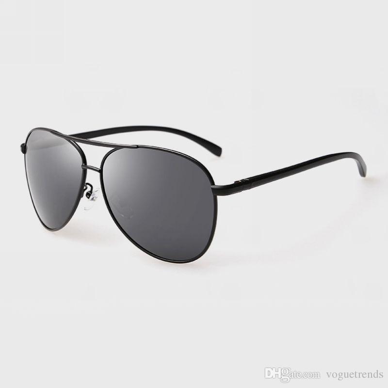 4e71a0d5607 Classic Pilot Square Metal Framed Polarized Sunglasses For Men Retro  Fashion Sport Sun Glasses Eyewear Clearance Pilot Sunglasses Polarized  Pilot Sunglasses ...