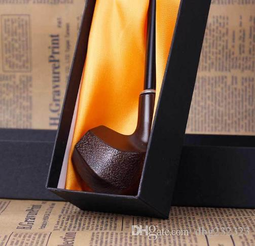 Can be cleaned long pole three - dimensional resin pipe bending free - style boxed boxed tobacco accessories