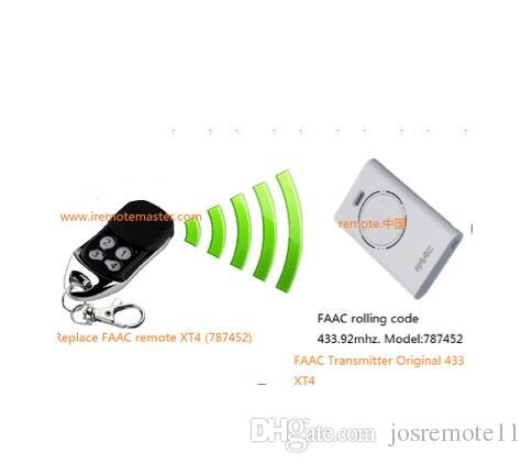 Faac Replacement Remote Control Rfac4 Model 787452 Faac 787452