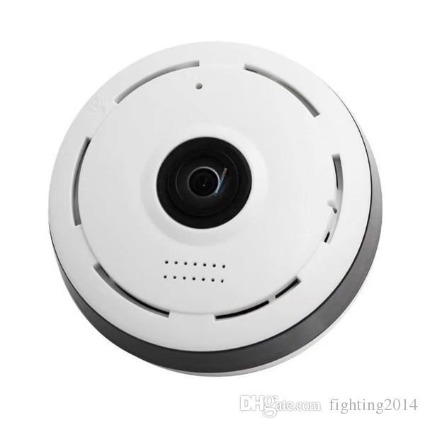 Telecamera a 360 gradi con telecamera WIFI Telecamera panoramica a globo Telecamera Fisheye mini P2P Telecamera a infrarossi Night Vision Telecamera di sorveglianza CCTV