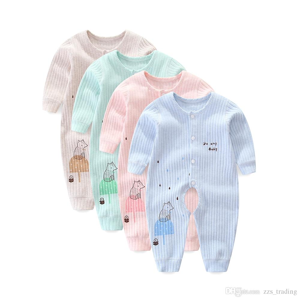 4b5937e4b2c8 Winter Autumn Spring Unisex Baby Clothes Warm Newborn Baby Boy Girl ...