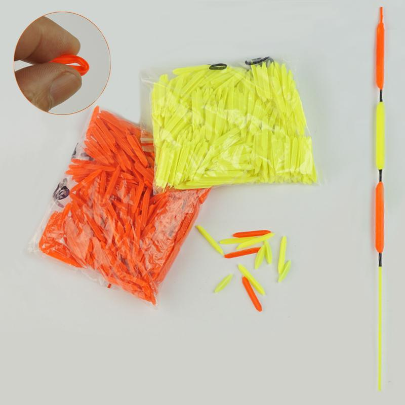 Wholesale- 50pcs/lot DIY Conspicuous Triangular Diamond Shape Fishing Floats Drift Tail Accessories Flotador Pesca Fishing Tools Tackle