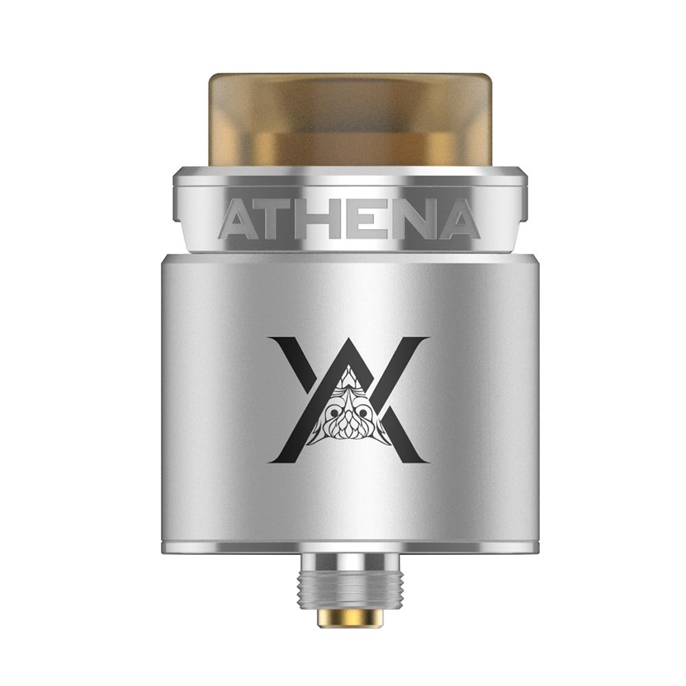 GeekVape Athena Squonk RDA with Top Angled Airflow System and Dual Postless Build Deck Design Compatible with Athena Squonk MOD