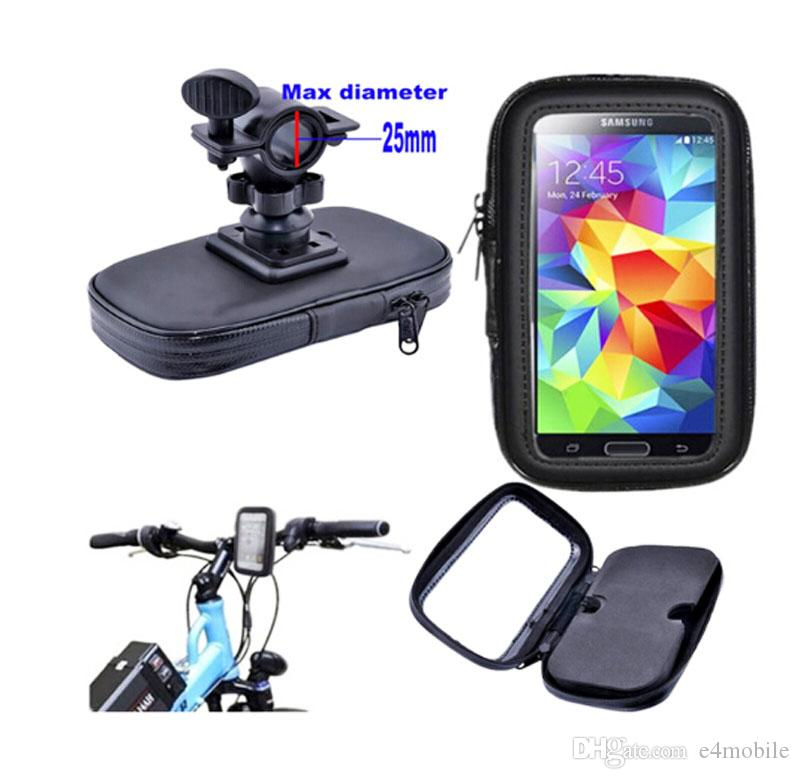 Touch Screen Waterproof Bicycle Bike Mobile Phone Cases Bags Holders Stands For LG Ray,G Vista 2,G4 Beat/G4S/G4C/G4 NOTE,Elephone S7/C1/R9