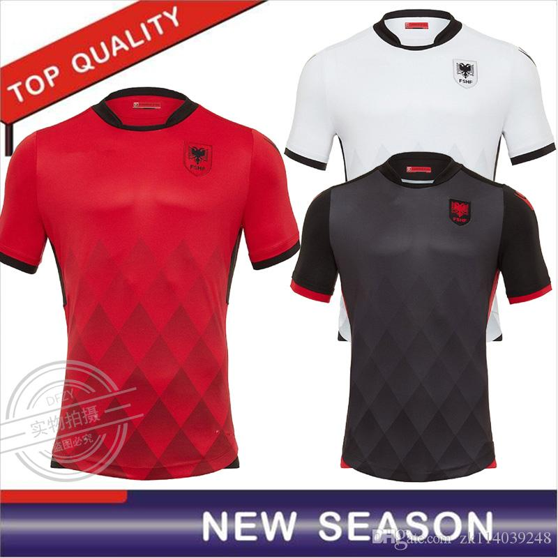 2019 Wholesale 2017 Albania Soccer Jersey 17 18 Albania National Black  Soccer Shirt From Zk114039248 ef11d043a
