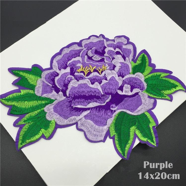 Penoy цветок патч вышивка мотив аппликации знак утюг на наклейки патчи для одежды футболка свадебное платье декор DIY швейные аксессуары