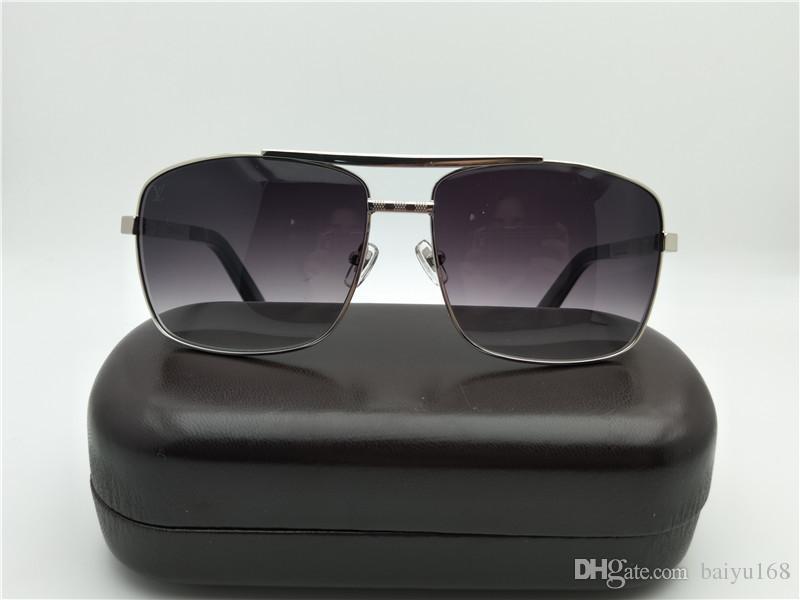 6cb80bc66 Compre Luxo Homens Atitude Prata Cinza Óculos De Sol Óculos De Sol Z0259U  Condução Ao Ar Livre Esportes Óculos De Sol Óculos New Com Caixa De  Baiyu168, ...