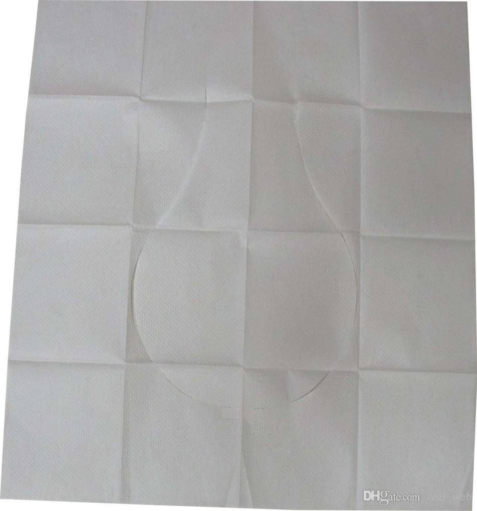 أرخص!!! يمكن التخلص منها غطاء مقعد المرحاض حصيرة صديقة للبيئة ورق التواليت الوسادة للسفر / التخييم الحمام accessiories
