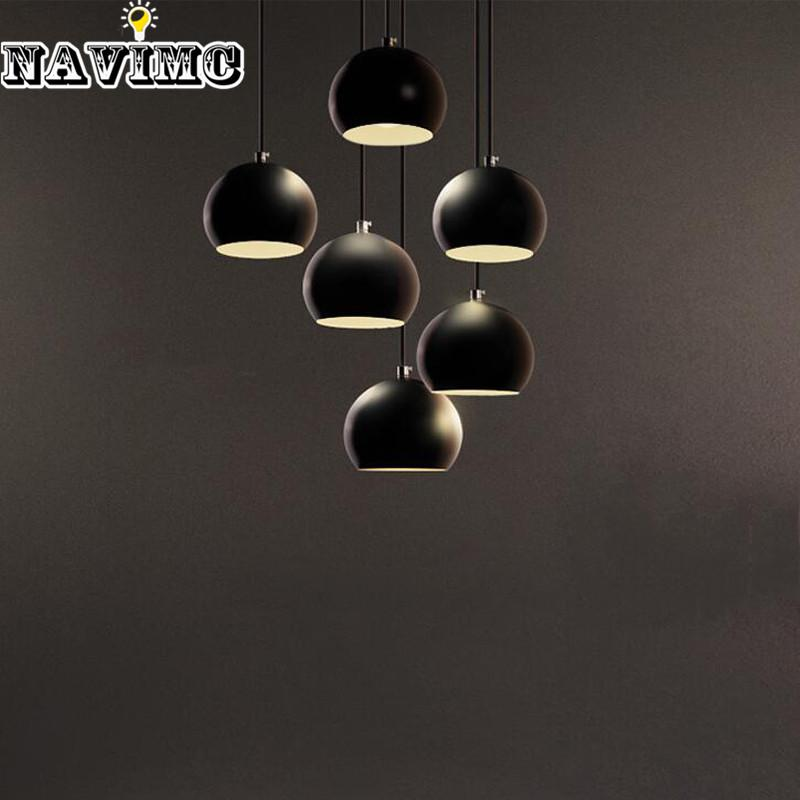 Modern black led pendant lights for coffee shop hemispherical lights modern black led pendant lights for coffee shop hemispherical lights dining room cafe simple lamp dining room pendant lighting hanging lighting fixtures mozeypictures Gallery