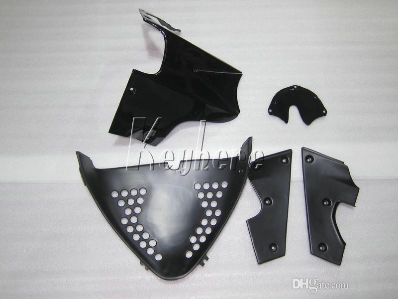 Kit de carrosserie de haute qualité pour Suzuki GSXR600 96 97 98 99 carénages noirs blancs GSXR750 1996 1997 1998 1999 OI45
